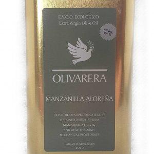 Olivarera biologische Olijfolie Virgen Extra Manzanillla Aloreña
