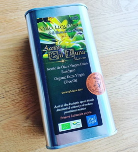Gil Luna olijfolie prijswinnende biologische olijfolie