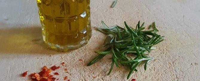 DIY kruidenolie Olivarera extra virgin olijfolie